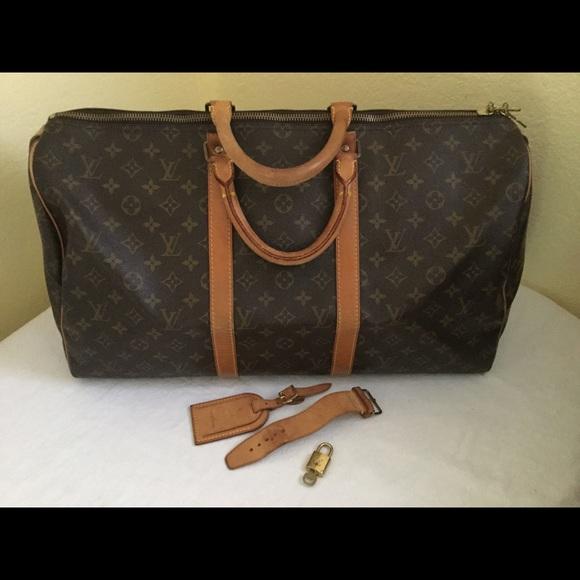 fdbe330c27c Louis Vuitton Handbags - Louis Vuitton Keepall 50 Travel Bag